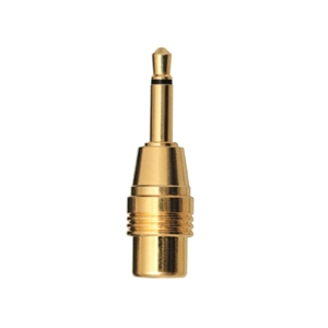 Gold Series 1/8 in. Mono Plug-to-RCA Phono Jack - Pack of 3