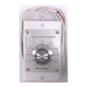 "Mono ""L"" Pad Level Control 50W RMS at 8 Ohm - incl. wall plate"