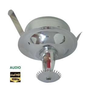 Covert Fire Sprinkler Spy Camera 4-IN-1 Full HD 3MP with Audio