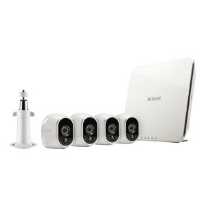 ARLO WiFi SMART SECURITY SYSTEM with 4 ARLO CAMERAS