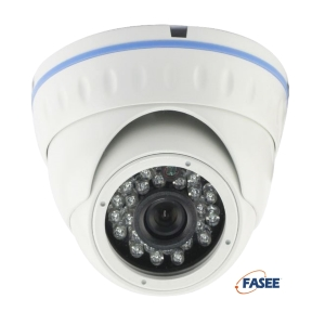 FASEE HD-IP Outdoor Fixed Lens 3MP Dome Camera - 20 meters