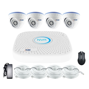FASEE 4CH PoE NVR KIT 4MP DOME CAMERAS - Showroom Display Item