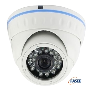 FASEE HD-SDI Outdoor Fixed Lens 3MP Dome Camera - 20 meters